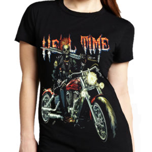 Biker Hell Time T-Shirt