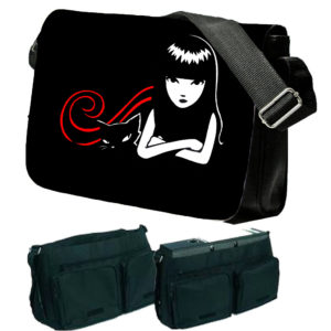 Emily The Strange Messenger Bag