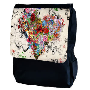 Flower Heart Backpack
