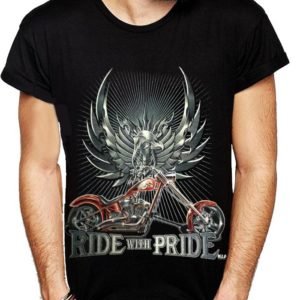 Biker Ride With Pride T-Shirt