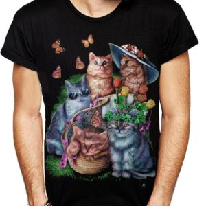 Summer Cats T-Shirt