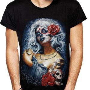 Living Dead Goth Lady T-Shirt