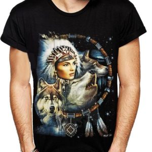 Indian Lady Dreamcatcher T-Shirt