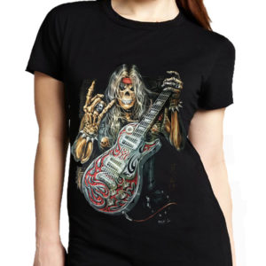 Rock On Reaper Guitar T-Shirt