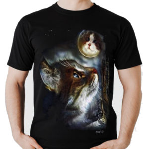 Cat Moon T-Shirt