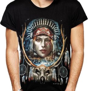 Indian Lady Chief T-Shirt