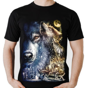 Snow Wolf Pack T-Shirt